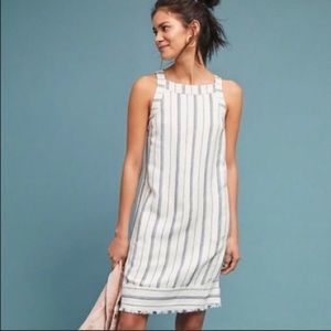 Anthro Akemi + Kin Claudia striped shift dress